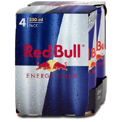 Red Bull 4x 0,25 l